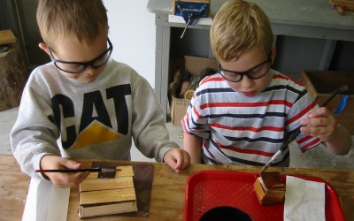 My First Woodworking Class with Young Children