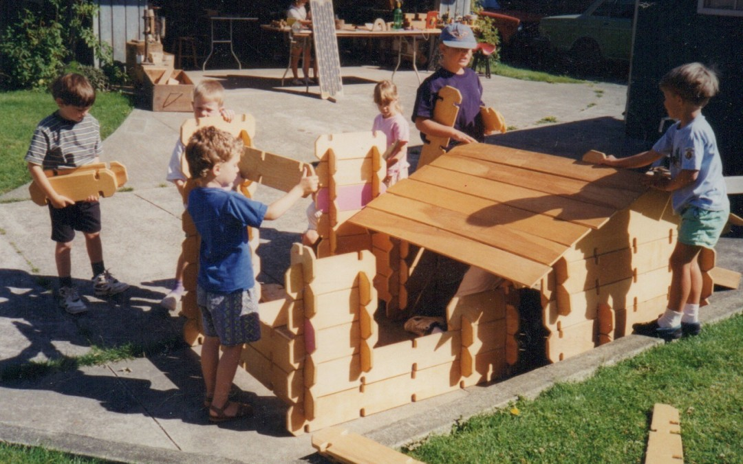 Summer Woodworking with Kids